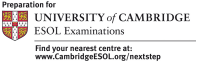Preparation for University of Cambridge ESOL exams